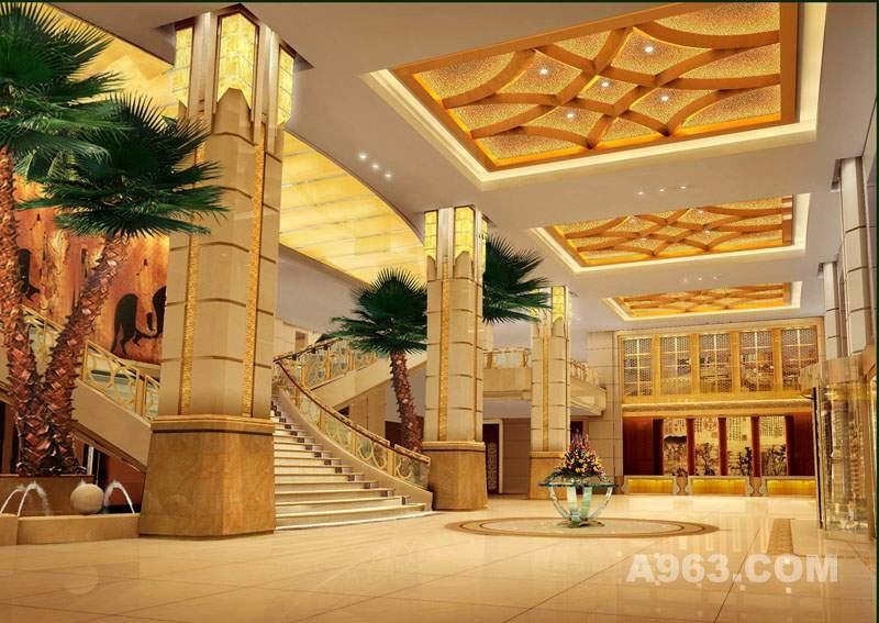 葫芦岛华泰国际酒店-大厅