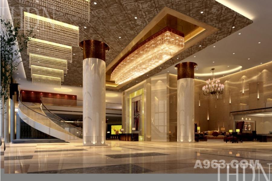 金兰国际大酒店-中餐过道