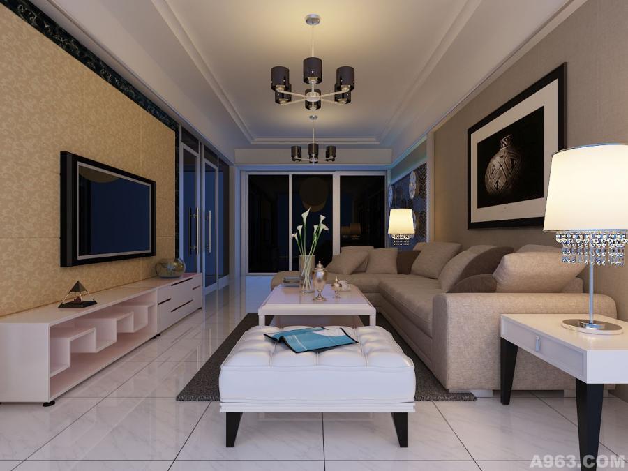 前期客厅的方案