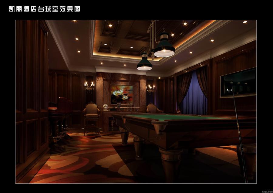 葫芦岛凯丽酒店会所-台球区
