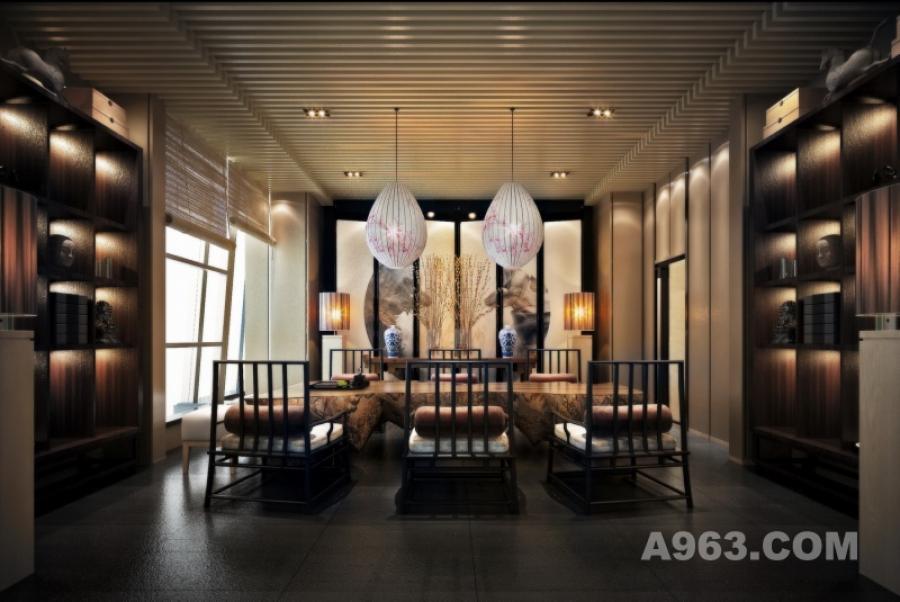 50层-会所-茶室