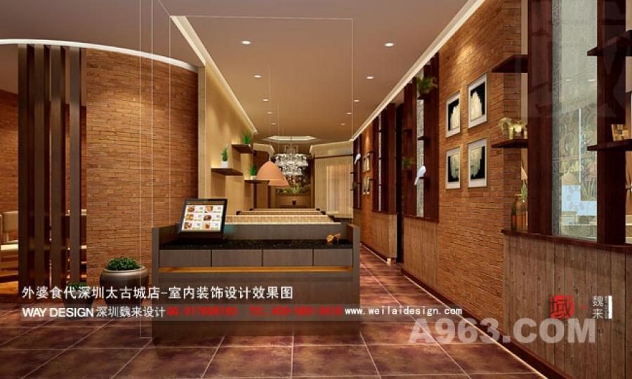 外婆食代-餐厅设计-深圳魏来设计