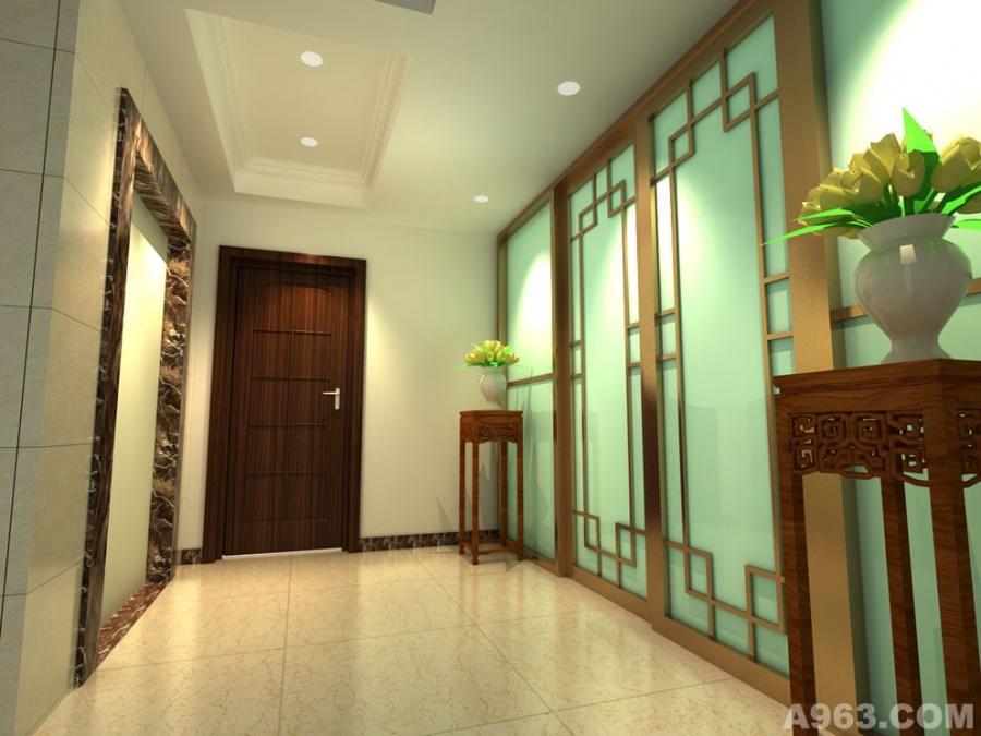 自建房电梯走廊