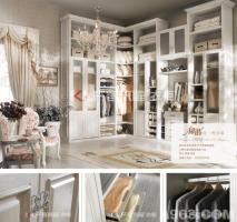 卧室装修之衣柜的的时尚设计