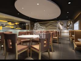 美国新嘉顿餐厅装饰工程设计项目