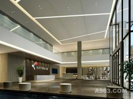 中盈地产办公楼设计
