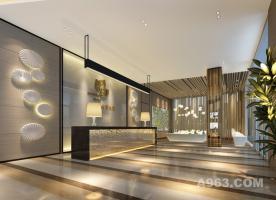 深圳市新木半里大厦售楼中心装饰设计