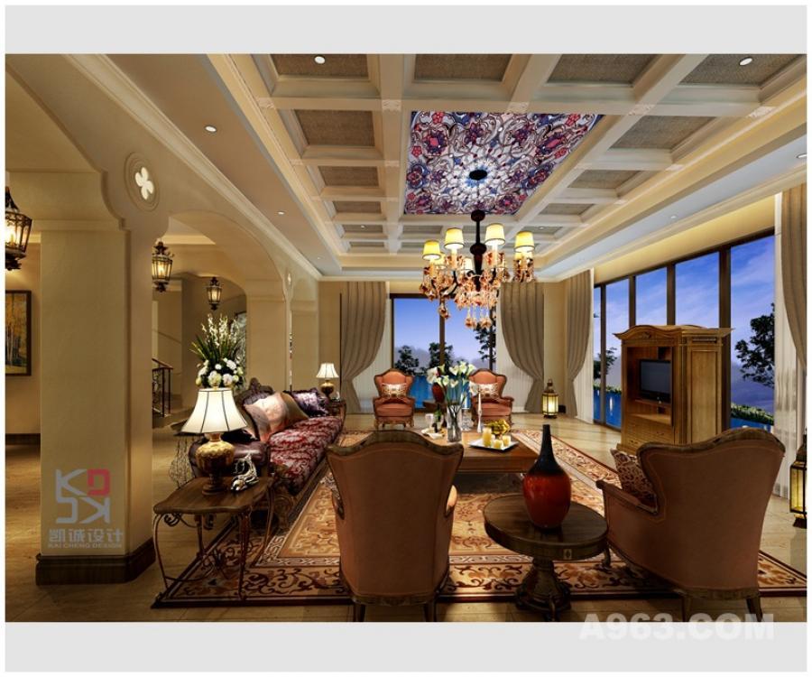 吴开城设计---东江源温泉度假区---休闲西班牙