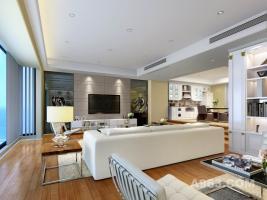 香港比华利山庄别墅室内设计效果图