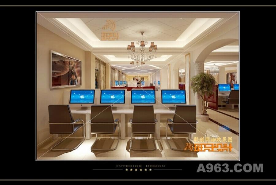 联创网咖 豪华欧式 斑玛设计