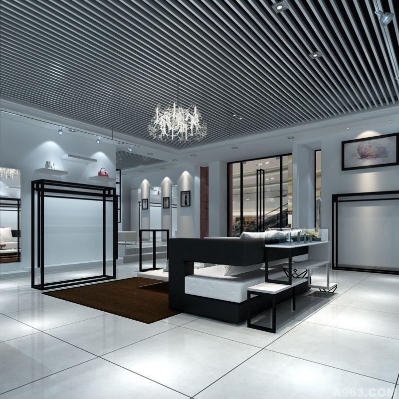 服装专卖店卖场形象空间设计视觉展示设计
