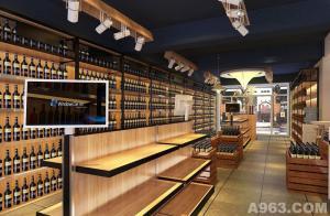 哈尔滨大寒装饰—小酒窝酒类连锁超市