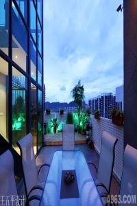 天健现代城空中别墅样板设计