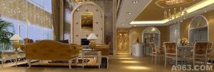 《奢华饰界》---波托菲诺. 纯水岸样板房豪宅设计