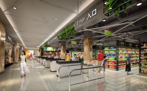 商场装修图片|高清商场装修图片_成都LAVIE购超市