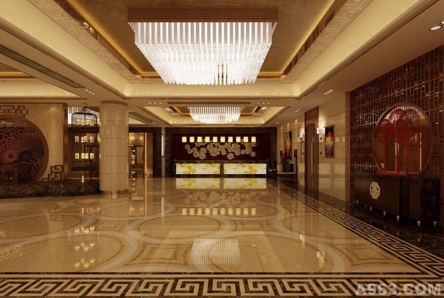 酒店大堂室内设计方案
