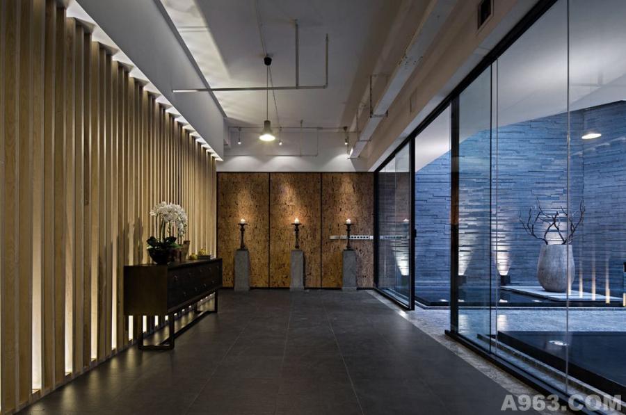 刘建辉作品成都万科办公楼设计--空间空间完成照片