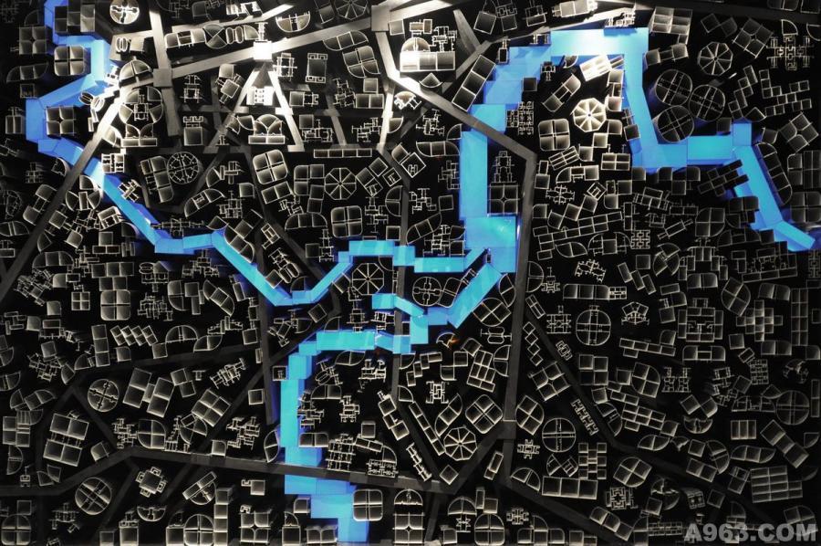 矩阵纵横刘建辉作品--主背景墙