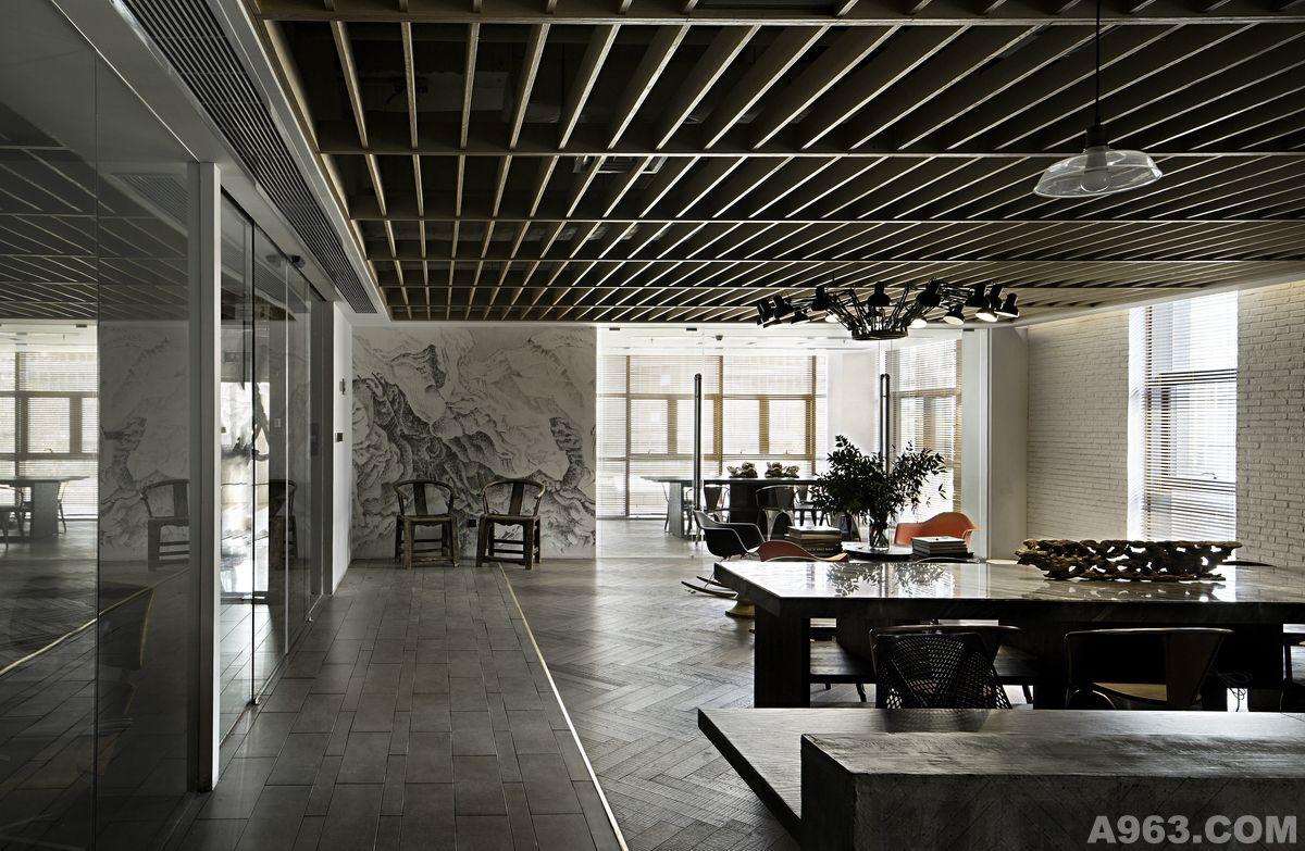矩阵纵横刘建辉作品--休闲区域及会议室