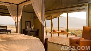 帐篷下的文化与风景