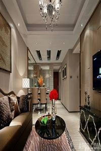 深圳海航城C2户型样板房设计--现代奢华
