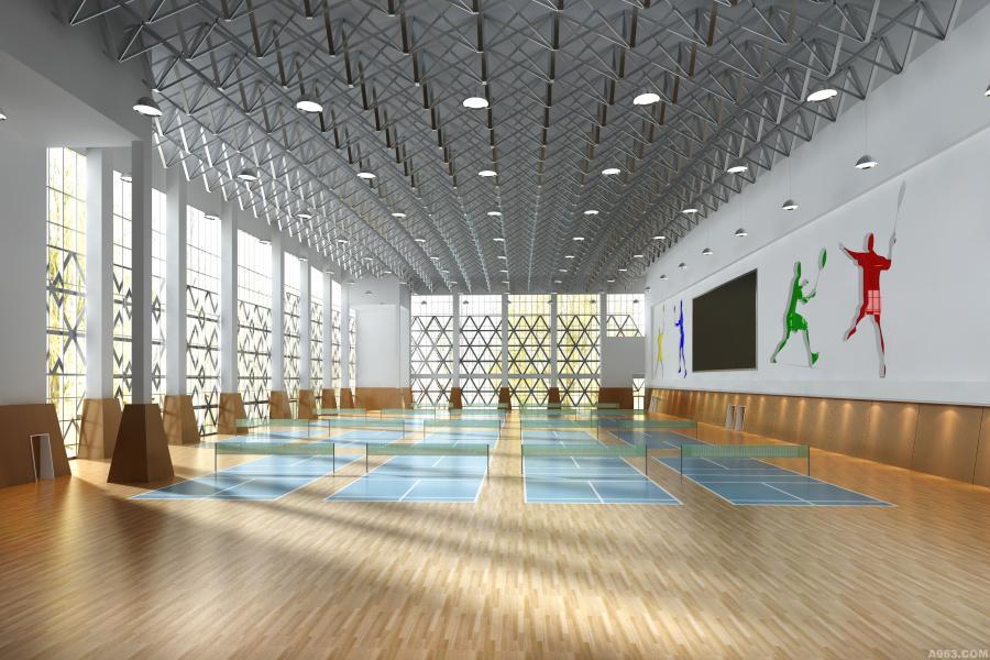 羽毛球比赛场馆
