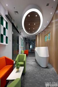 深圳排队网办公室设计