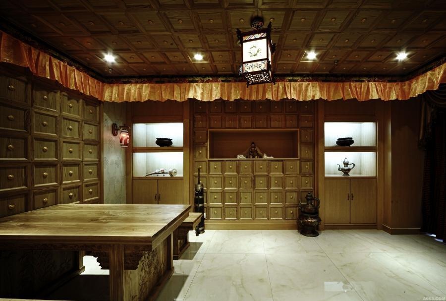 藏药浴空间设计