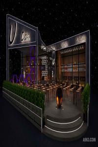 深圳U CAFE咖啡馆室内设计