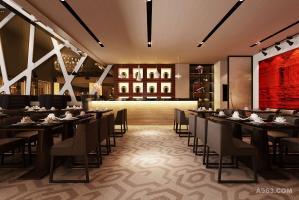 茶餐厅室内设计 创意商业空间