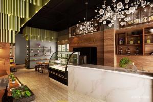 深圳格林生活咖啡馆室内设计