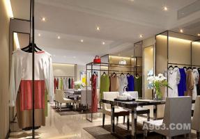广州伊莎贝罗采御服饰--展厅设计