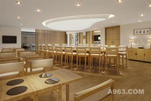 广州水釜颐园素食馆--餐饮空间设计