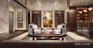 江西创嘉90号别墅样板房--美式风格