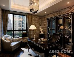 高端洋房装修设计和装饰施工,有成功案例:九城湖滨样板房