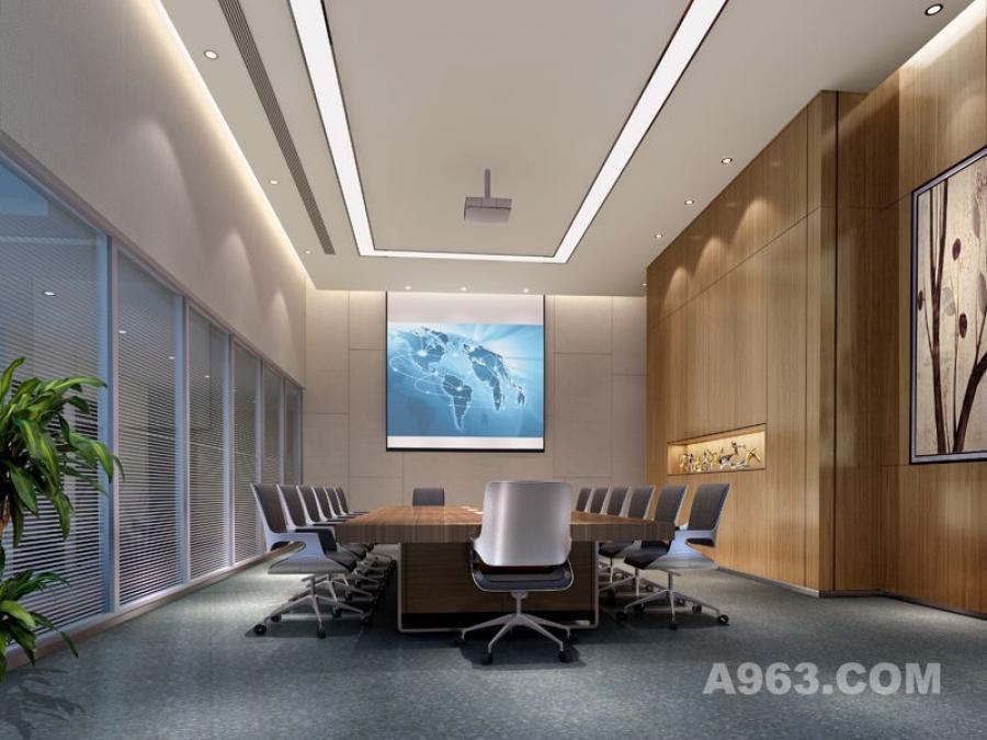 吴开城设计作品——办公室空间——会议室