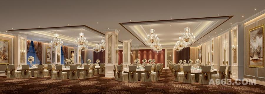 吴开城设计作品——酒店空间——宴会厅