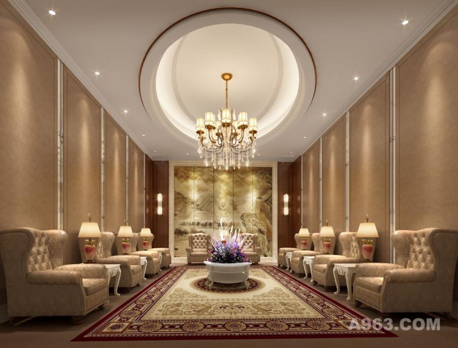 吴开城设计作品——酒店空间——贵宾室