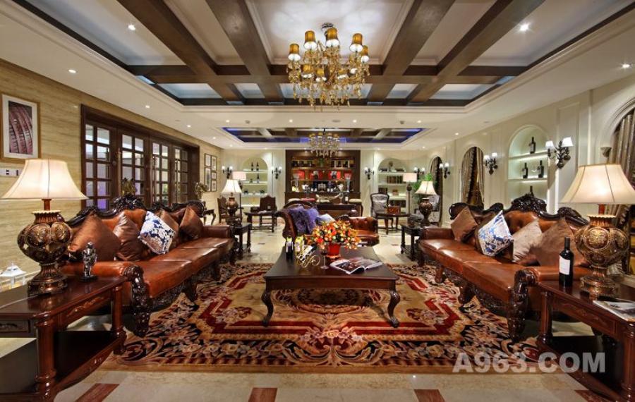 吴开城设计作品——会所空间——红酒雪茄吧