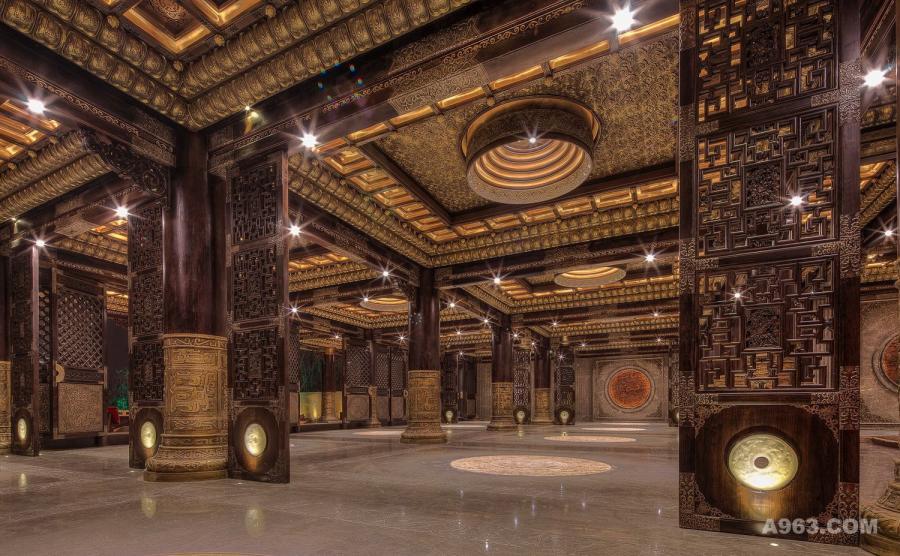 神农坛大殿
