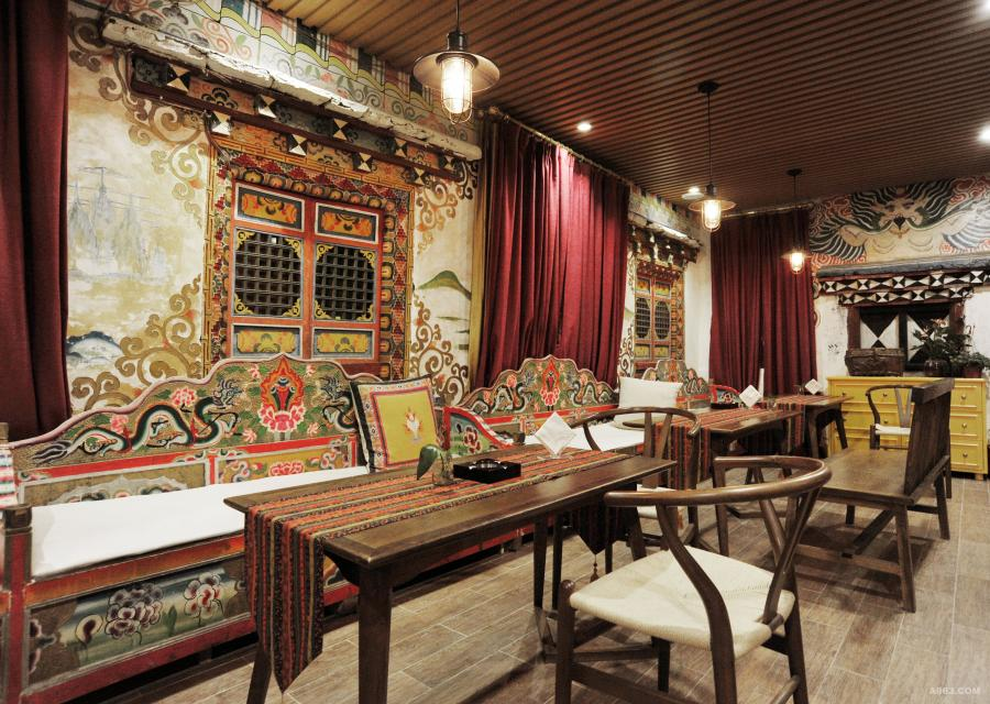 藏式民宿设计