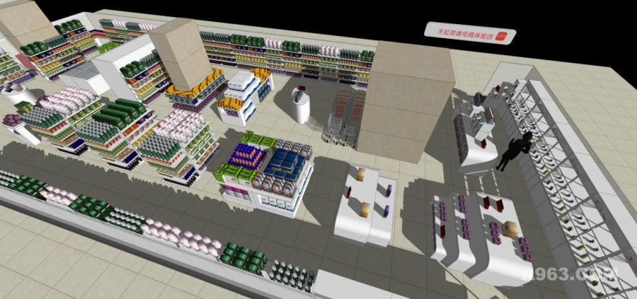 天虹商场超市设计公司www.lb-art.com
