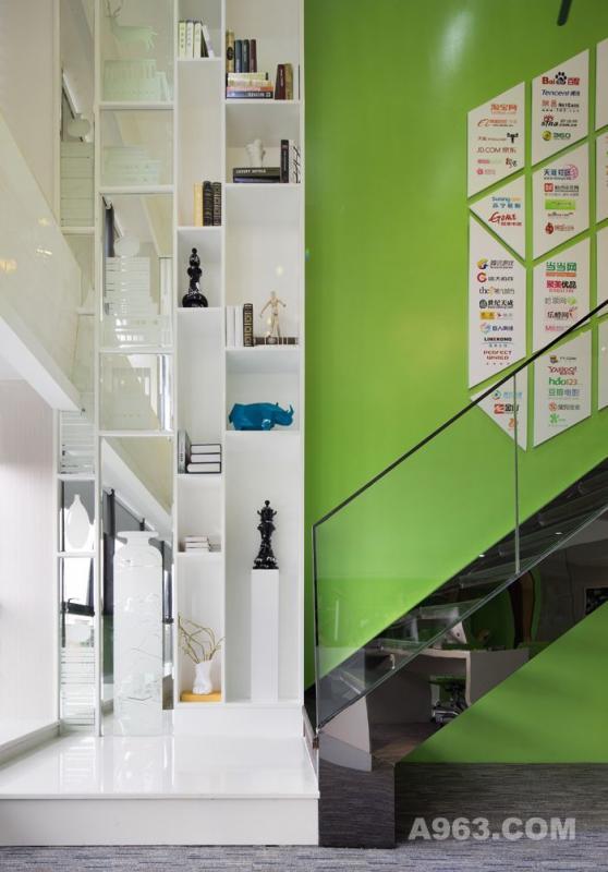 中粱地产.办公空间样板房设计