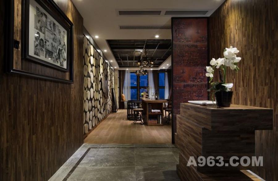 loft办公空间样板间设计