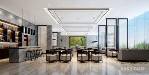 江西创嘉90号售楼处设计