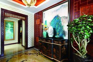 祥和王宫独栋别墅中西混搭风格装修案例