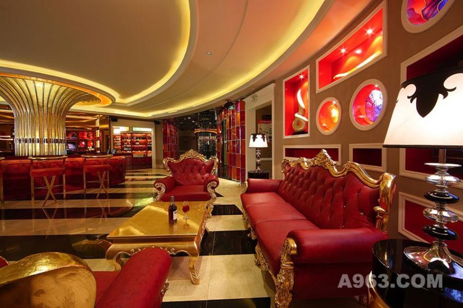 图一:深圳凯高点KTV设计 大厅