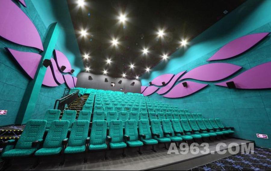 电影院设计案例效果图2龙岗背景墙制作图片