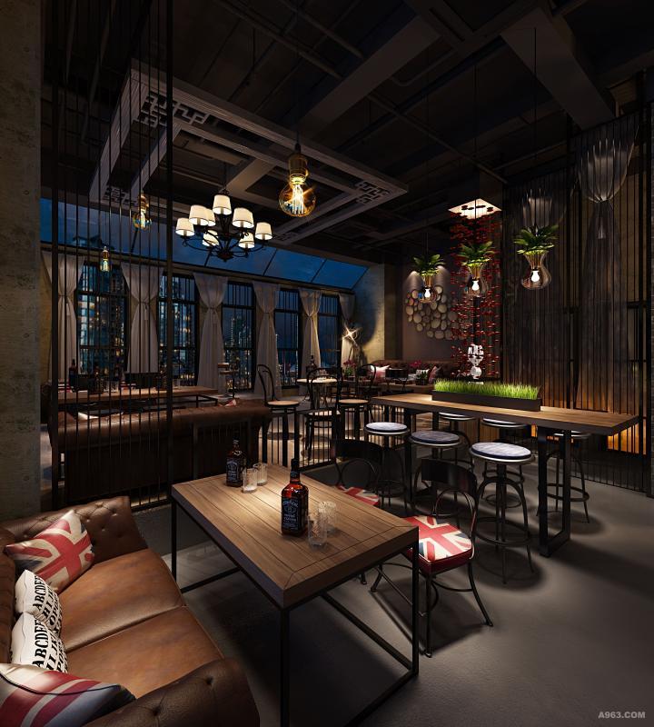 纱幔布艺的手法,让咖啡厅更添加了一丝端庄典雅,让生活更加惬意舒适。 英国的铁艺像一个英俊倜傥的绅士。
