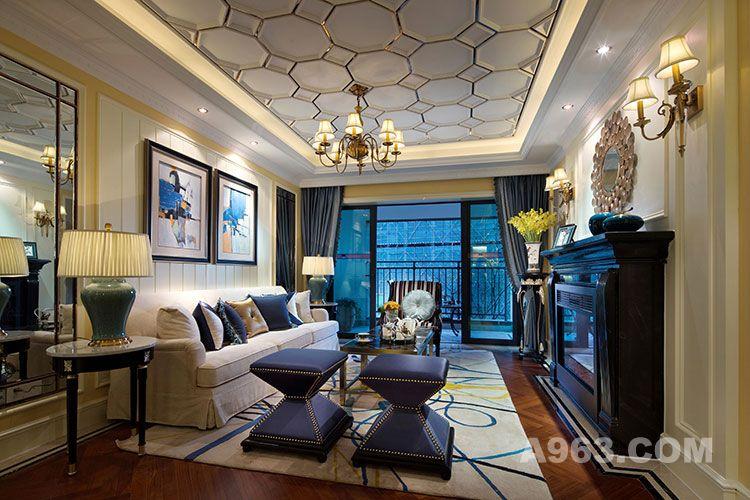 1昆明海伦国际样板房设计|朗昇建筑空间设计